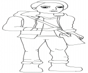 Printable hunter huntsman coloring pages