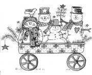 Print print able snowman sf2d3 coloring pages