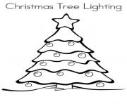 Print Christmas Lights 4 coloring pages