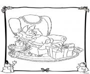 winnie the pooh disney christmas 10 coloring pages