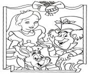 disney christmas 8 coloring pages