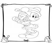 Print mickey disney christmas 34 coloring pages