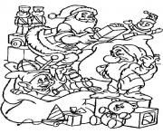 Printable disney christmas 9 coloring pages