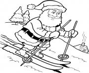 Printable christmas santa claus 40 coloring pages
