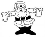 Printable christmas santa claus 56 coloring pages