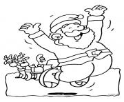 christmas santa claus 73 coloring pages