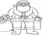 Printable christmas santa claus 74 coloring pages