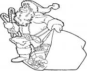 Printable christmas santa claus 76 coloring pages