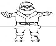 christmas santa claus full body 66 coloring pages