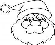 christmas santa claus 04 coloring pages