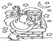 Printable christmas santa claus 15 coloring pages