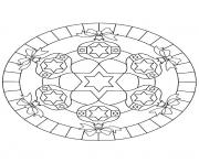 Print mandala christmas 27 coloring pages