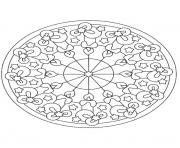 Printable mandala christmas 28 coloring pages