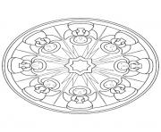 Print mandala christmas 36 coloring pages