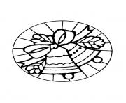 mandala christmas 01 coloring pages
