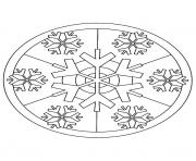 Printable mandala christmas 14 coloring pages