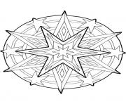 Print mandala christmas 18 coloring pages