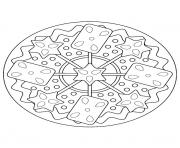 Printable mandala christmas 31 coloring pages