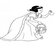 Printable princess christmas 04 coloring pages