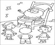 Printable christmas for kids 32 coloring pages