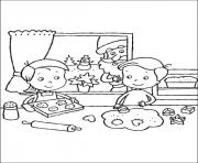 Printable christmas for kids 11 coloring pages