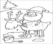 Printable christmas for kids 33 coloring pages