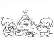 Printable christmas for kids 09 coloring pages