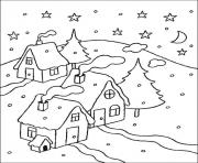 christmas for kids 12 coloring pages