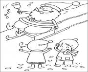 Printable christmas for kids 17 coloring pages