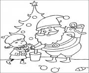 Printable christmas for kids 19 coloring pages