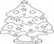 christmas tree bb4c coloring pages