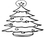 christmas tree printablec coloring pages