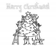 Printable merry christmas christmas tree s for kids printablec5d8 coloring pages