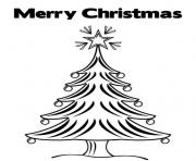 merry christmas s tree afdf coloring pages