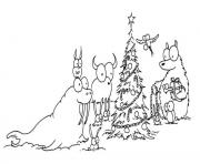 Printable free s christmas tree dec7 coloring pages