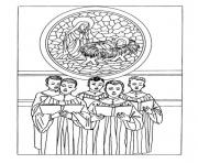 christmas adults traditional 02 coloring pages