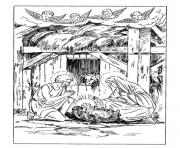 christmas adults traditional 10 coloring pages