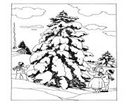 christmas adults traditional 01 coloring pages