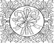 Christmas for Adults  coloring pages