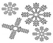 Printable Snowflake 2 coloring pages