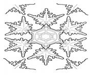 Printable Christmas Snowflake 1 coloring pages
