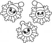 Print Christmas Snowflake coloring pages