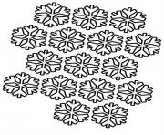 Printable Coloring Pages Snowflake Patterns coloring pages