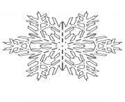 Printable Coloring Pages Snowflake Patterns 1 coloring pages
