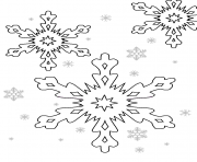 Printable Free Printable Snow Flakes coloring pages