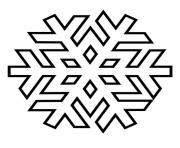 Print Snowflake 3 coloring pages