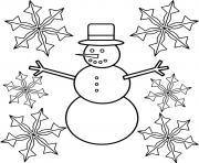 Printable Christmas Snowflake 3 coloring pages