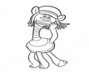 trolli raskraski 8 coloring pages
