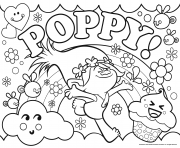 TROLLS COLORING Pages Free Download Printable
