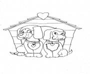 dogs in love animal s204f